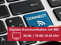 Webinar Digitale Kommunikation mit dem MD